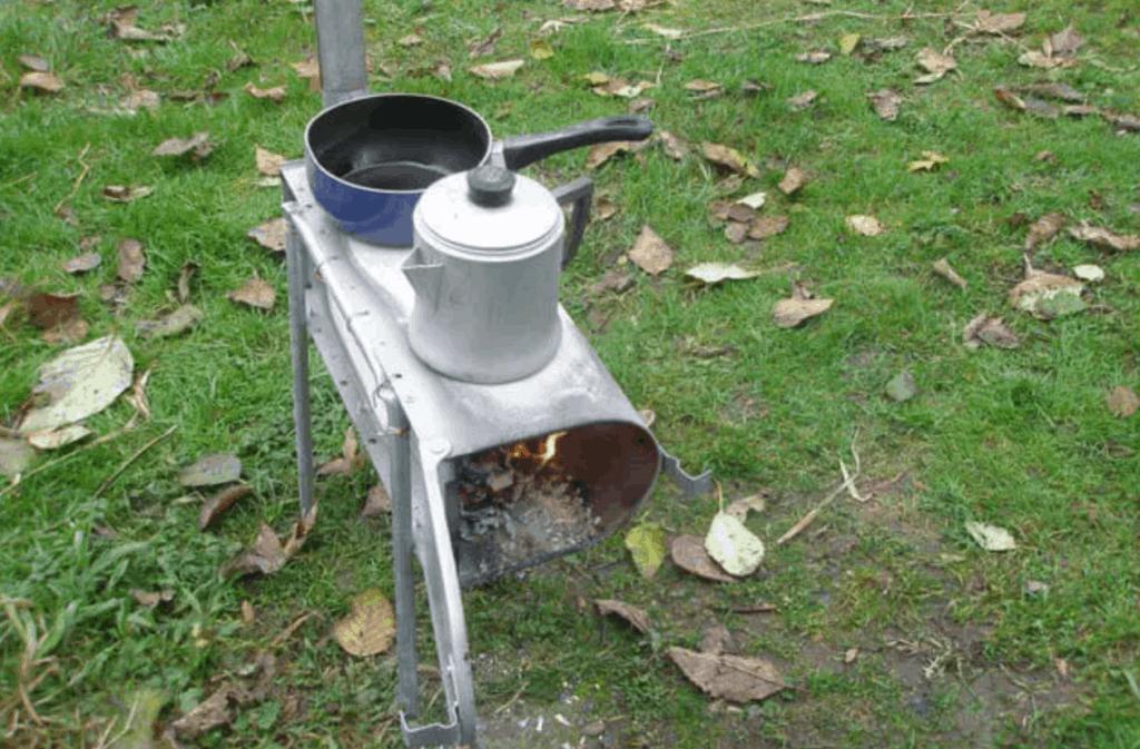 Mailbox Wood Stove