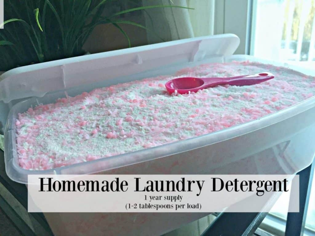 Fresh-Smelling Bulk Laundry Soap Recipe