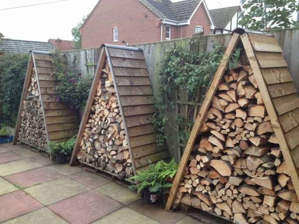 Triangle Wood Shed