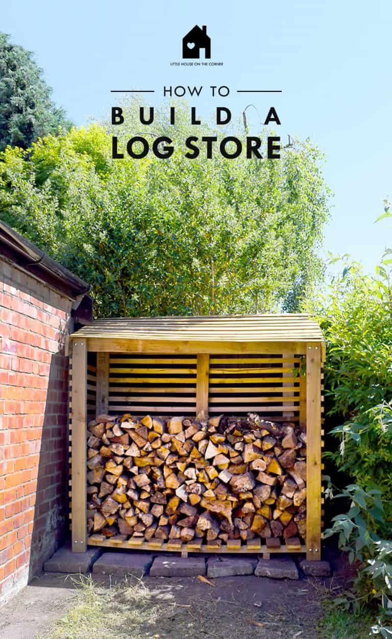 Log Store Shed