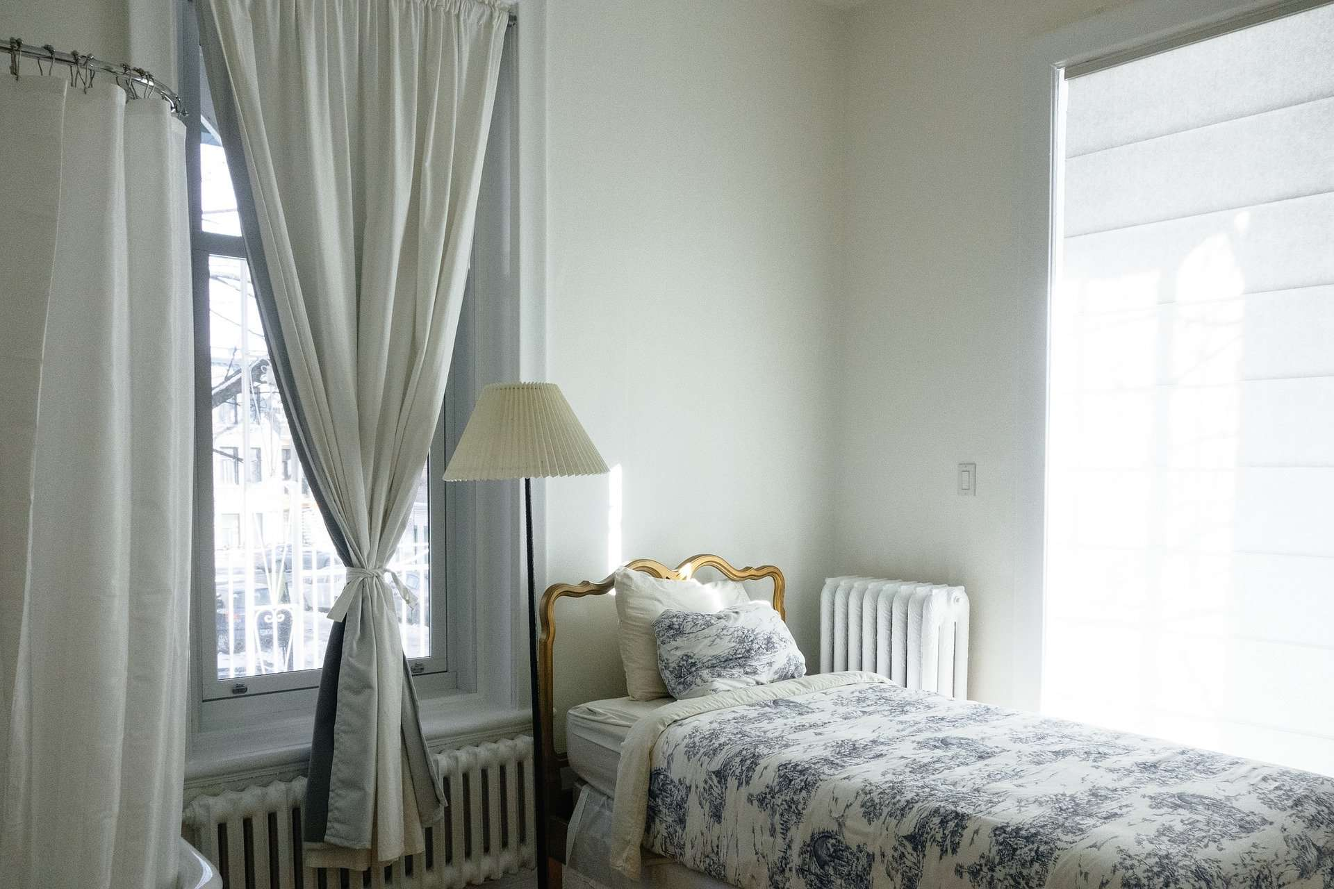 Spritz Your Curtains with a Little Water