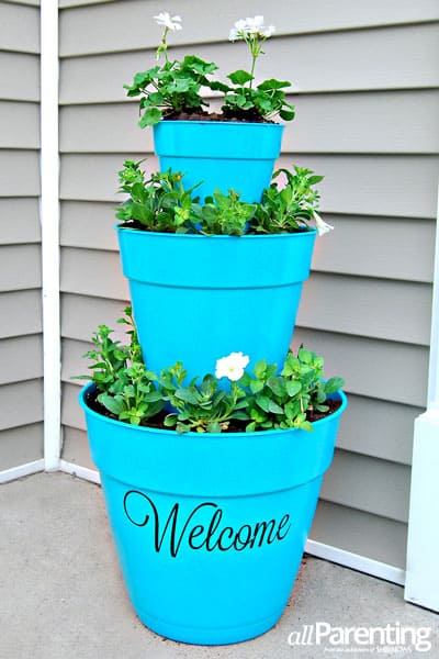 A Welcoming Flower Tower