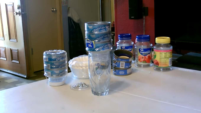 Tuna Can Water Filter
