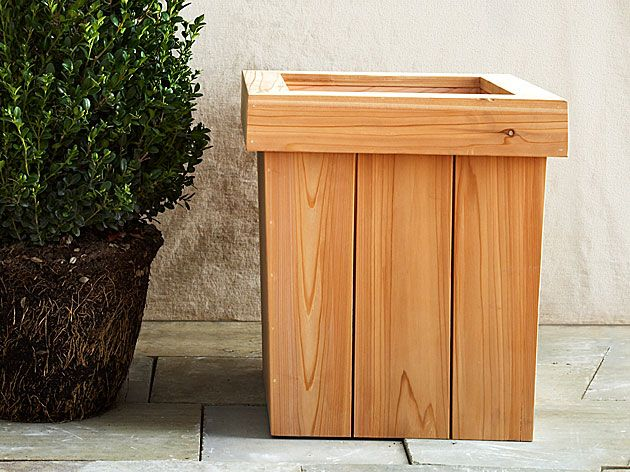 Capped Planter Box