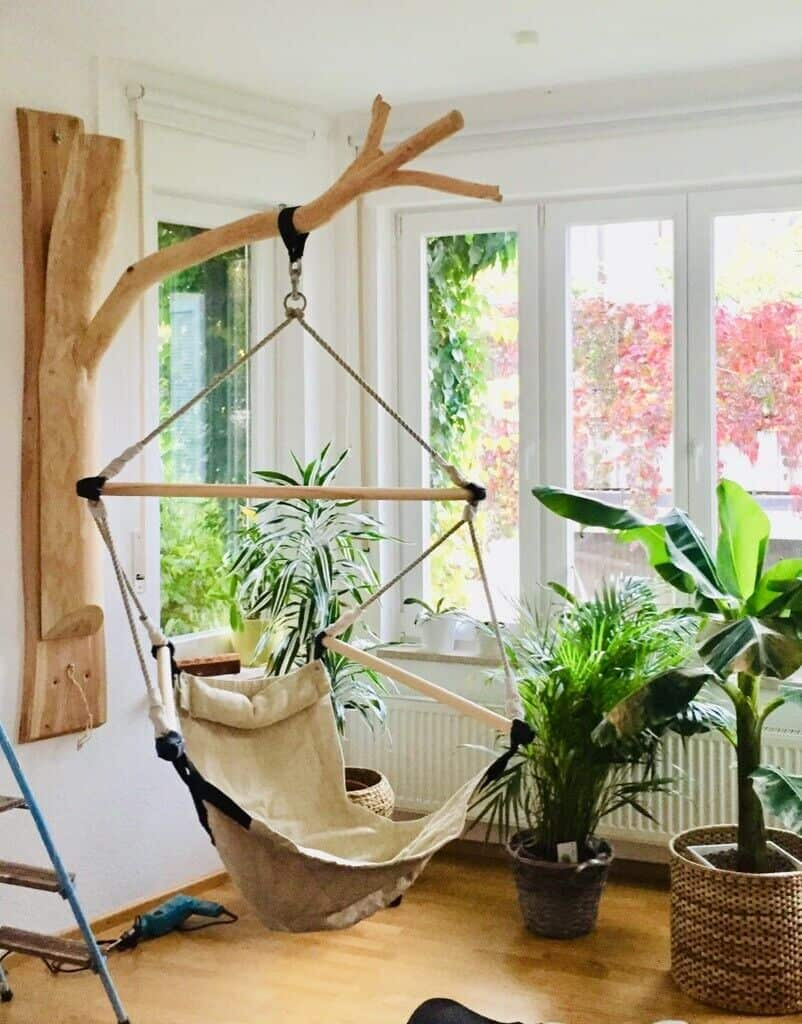 Hanging Hammock Chair Stand