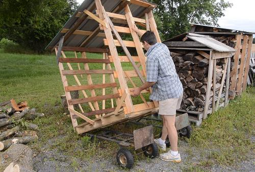 Portable Wood Shed