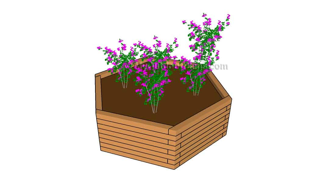 Hexagon Planter Plans
