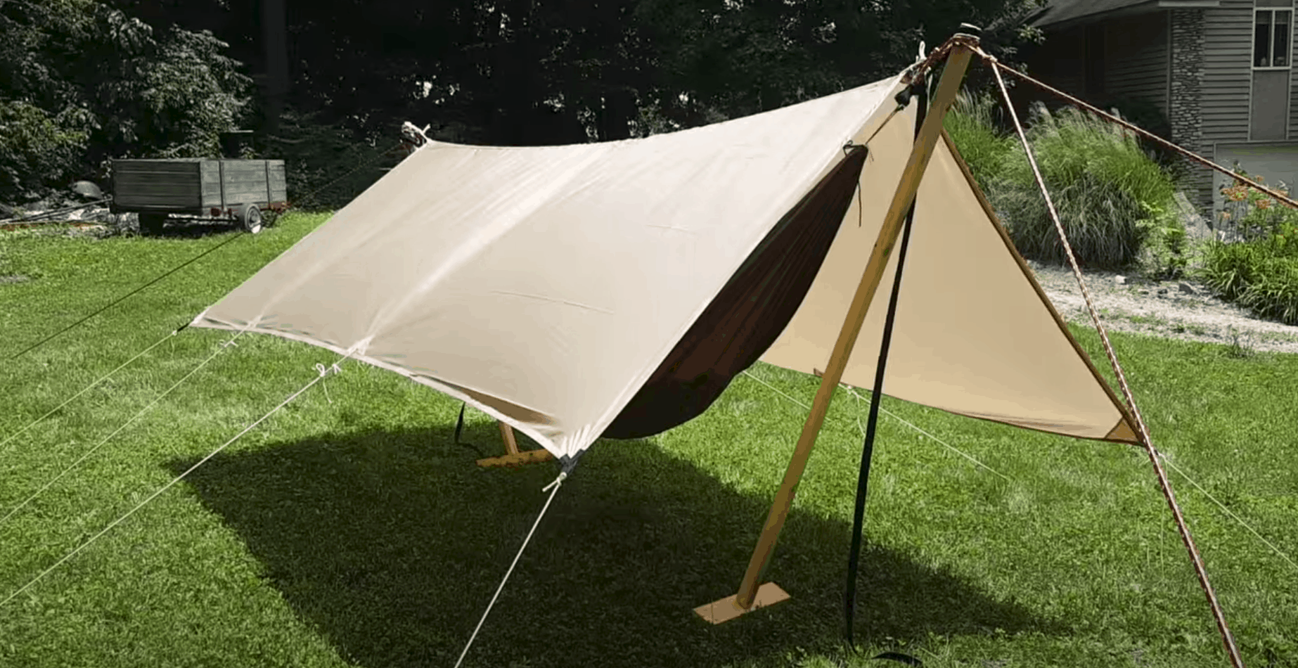 Tented Hammock Stand