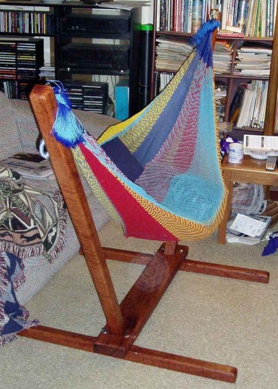 Collapsible Indoor Hammock Stand