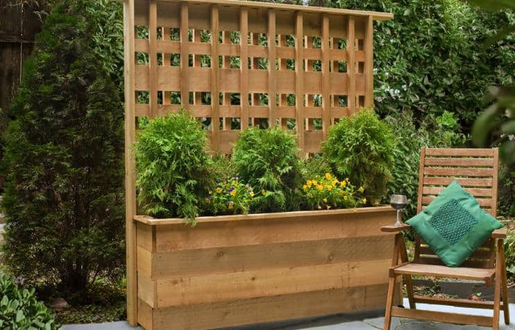 Privacy Planter Box