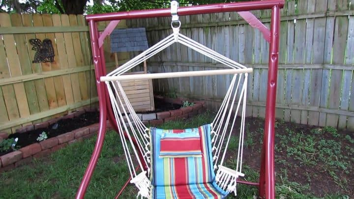 Reclaimed Swing Set Frame