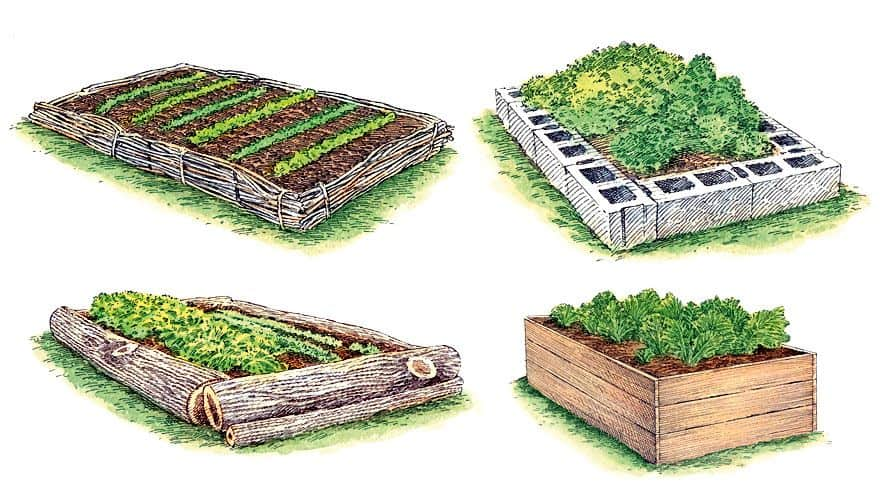 Simple Raised Garden Bed Options