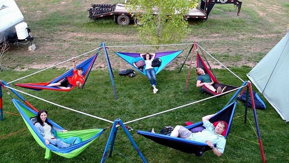 Family Hammock Stand