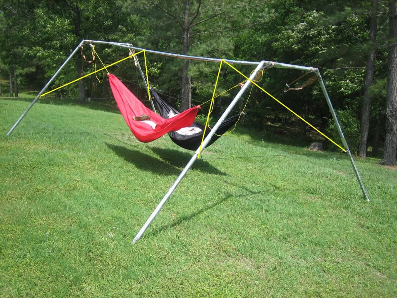 Double Hammock Stand