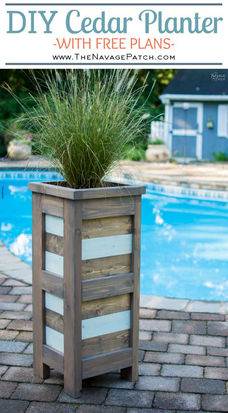 Tall Planter Box