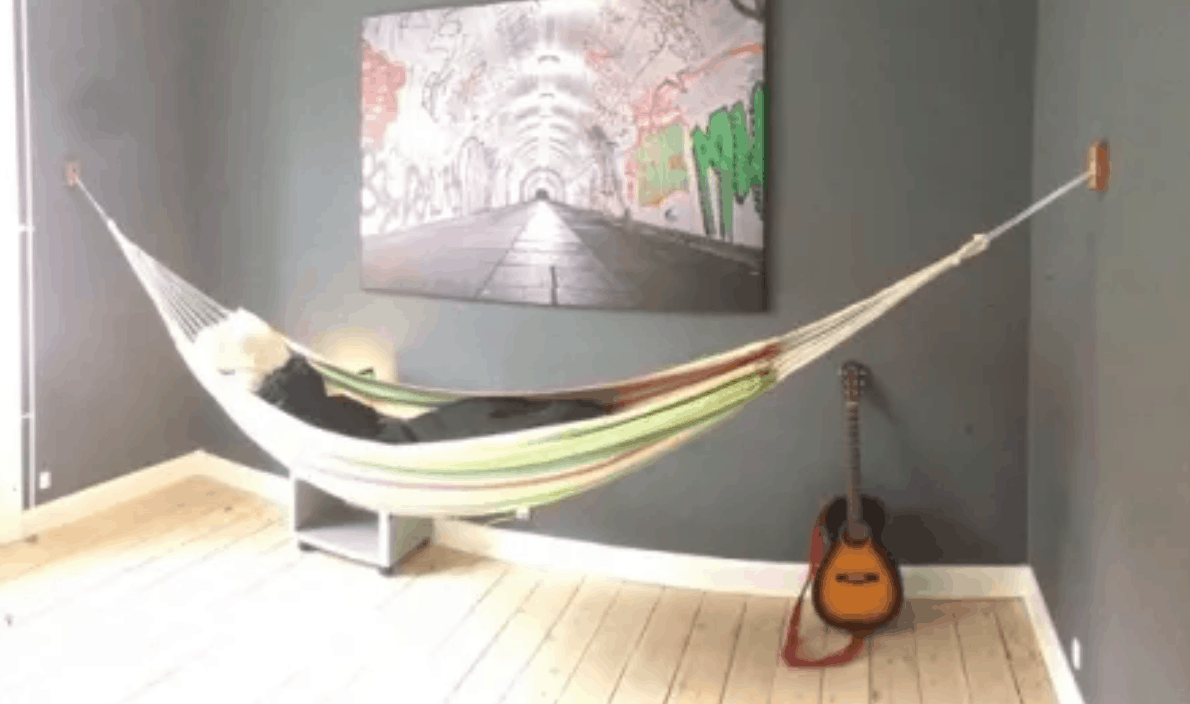Easy Indoor Hammock Mount
