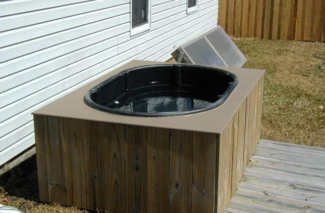 Solar Powered Hot Tub