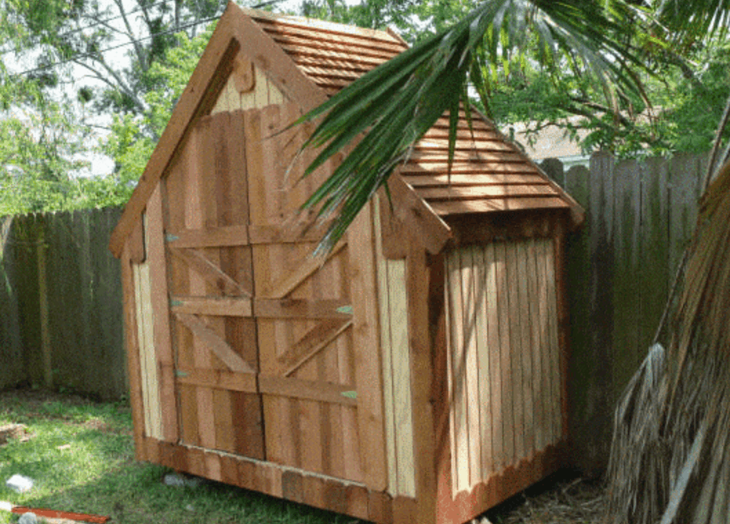 Narrow Shed