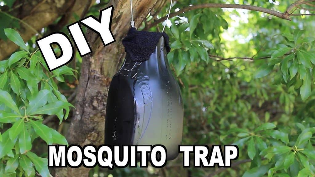 The $1 Mosquito Bag Fan Trap